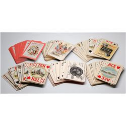 IL, Chicago-Cook County-Columbian Exposition Souvenir Playing Cards
