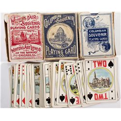 IL, Chicago-Cook County-World's Fair Souvenir Playing Cards