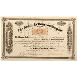 KY, Bourbon County--The Kentucky Bourbon Co. Stock Certificate