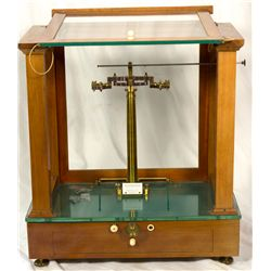 Holland, Rotterdam--Becker's Sons Analytical Balance Scale
