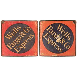 CA, San Francisco--Wells Fargo & Co Express Lock, Key, and Sign