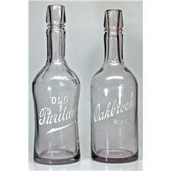 Oakbrook, Old Puritan Back Bar Bottles