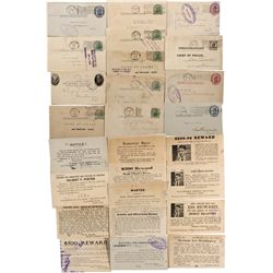 Wanted Persons Post Cards