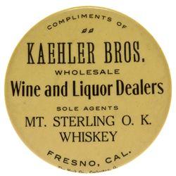 CA, Fresno--Fresno Whiskey Mirror