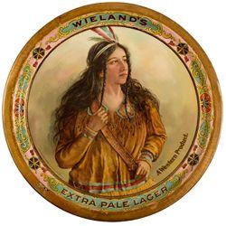 CA, San Francisco--Wieland's Brewing Company Beer Tray