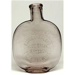 CA, Tuolumne--Tuolumne Saloon Unlisted Pumpkinseed Flask