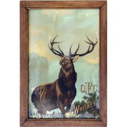 KY, Leestown, Frankfort-Franklin County-O.F.C. Whiskey Elk Picture