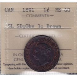 1891 One Cent