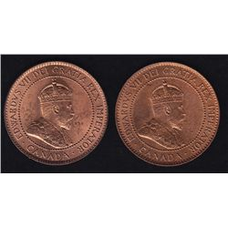 1902 & 1904 One Cents