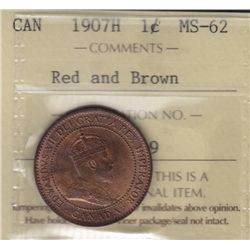 1907H One Cent