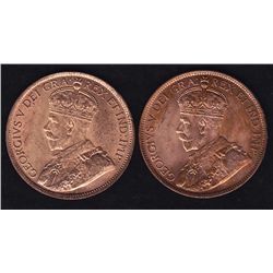 1913 & 1914 One Cents