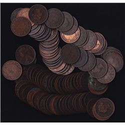 Lot of 100 Victoria Large Cents