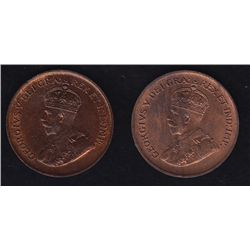 1931 & 1932 One Cents
