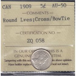 1909 Five Cent