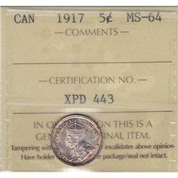 1917 Five Cent