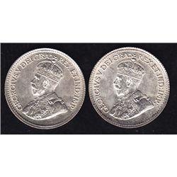 1919 & 1920 Five Cents