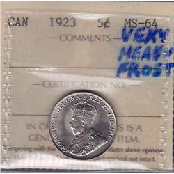 1923 Five Cent