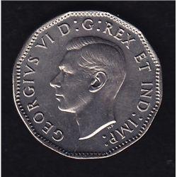 1947 Five Cent Dot Variety