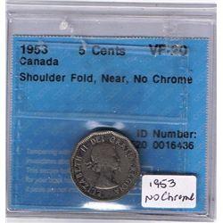 1953 Five Cent