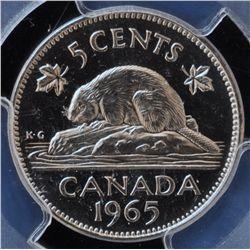 1965 Five Cent
