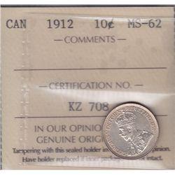 1912 Ten Cent