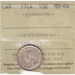 1914 Ten Cent