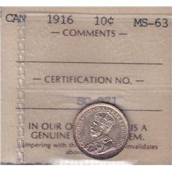 1916 Ten Cent