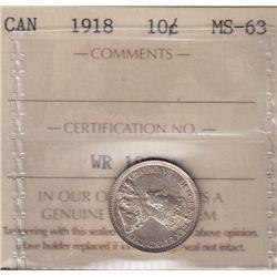 1918 Ten Cent