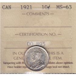 1921 Ten Cent