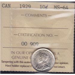 1929 Ten Cent
