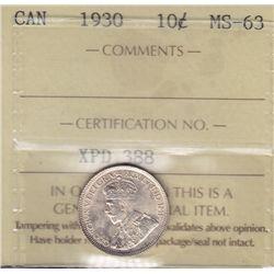 1930 Ten Cent