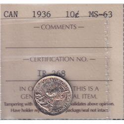 1936 Ten Cent