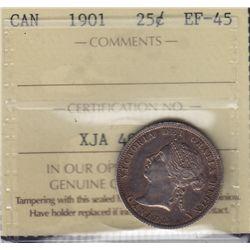 1901 Twenty Five Cent