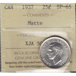 1937 Twenty Five Cent
