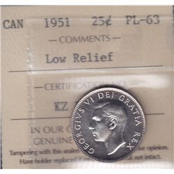1951 Twenty Five Cent