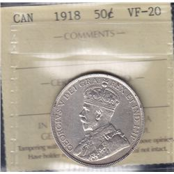 1918 Fifty Cent