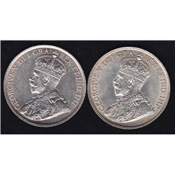 1918 & 1919 Fifty Cents