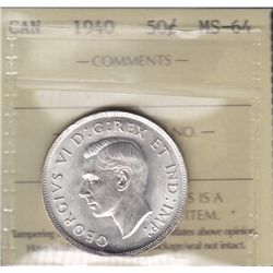 1940 Fifty Cent