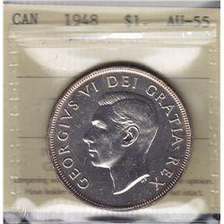1948 Silver Dollar