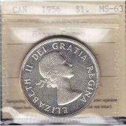 1956 Silver Dollar