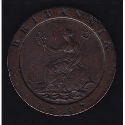 1797 Two Pence Great Britain