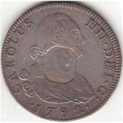 1792 Half-Dollar with octagonal George III countermark.