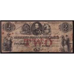 1849 Farmer's Joint Stock Bank $2