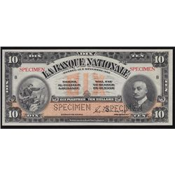 1922 Banque Nationale $10