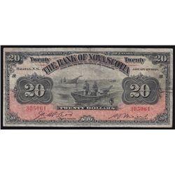 1929 Bank of Nova Scotia $20