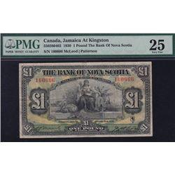 1930 Bank of Nova Scotia £1