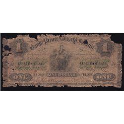 1877 Bank of Prince Edward Island $1