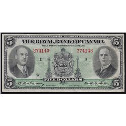 1935 Royal Bank of Canada $5