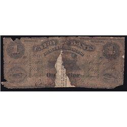 1875 Union Bank of Prince Edward Island $1