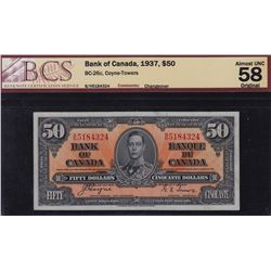 1937 Bank of Canada $50